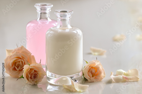 Cosmetic milk and toner
