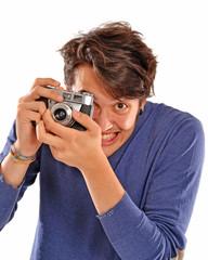 Fotografo tomando una foto.