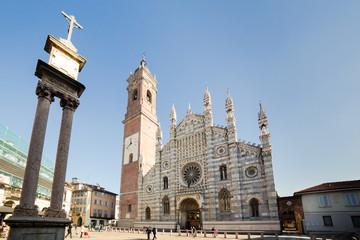 Esterno della cattedrale di Monza
