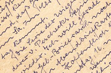Fragment of an old handwritten letter, written in German.