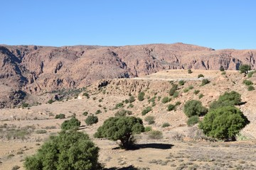 Atlasgebirge in Marokko