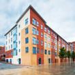 Modern, new executive apartment building - 77643854
