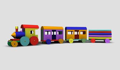 Trenino colorato
