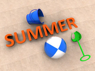 Summer - concept