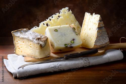 Papiers peints Produit laitier Italian cheeses