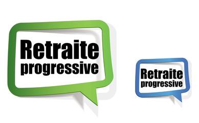 retraite progressive, rente