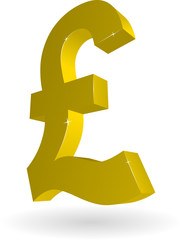 3D Currency - Pound
