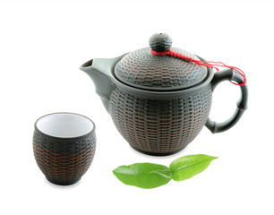 teapot isolated on white background