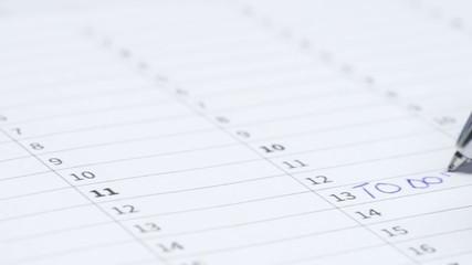 """Calendar """"Do Do"""""""