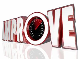 Improve Word Speedometer Measure Increase Better Performance