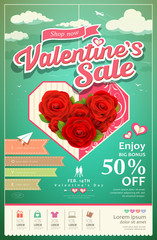 Promotion festival valentines day sale