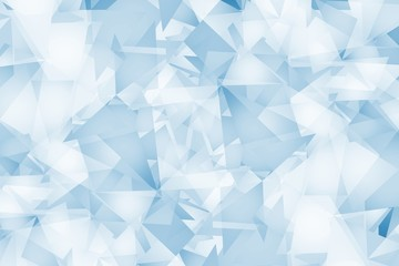Light Blue Triangles Background