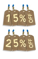 Sale Paper Tags Discount