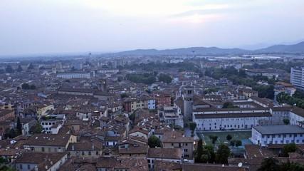 Brescia vista dall'alto video