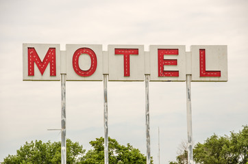 Generic Motel Sign