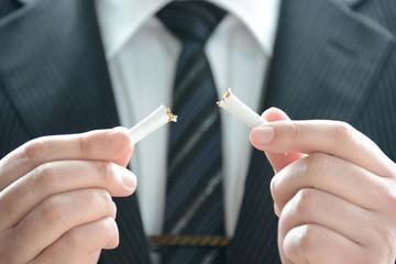 禁煙イメージ―ビジネスマン