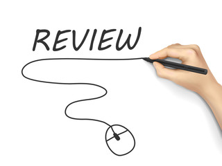 review word written by hand