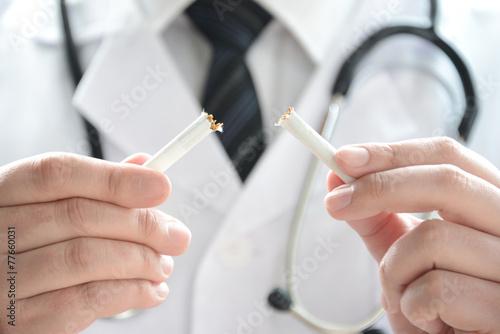 禁煙イメージ―ドクター - 77660031