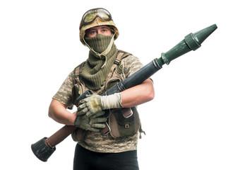 Bizarre soldier
