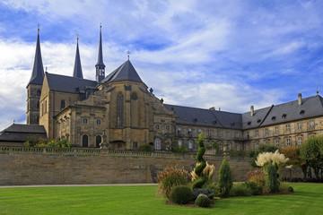 Kloster Michelsberg (Michaelsberg) cathedral and garden in Bambu