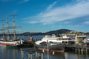 Boats in the Aquatic Cove, San Francisco