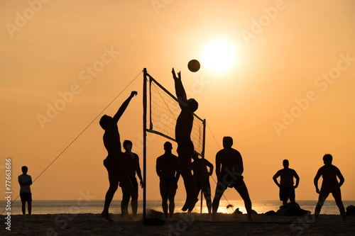 Plakat beach Volleyball