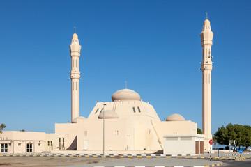 Mosque in the emirate of Fujairah, United Arab Emirates