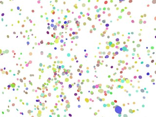 Disco confetti feest