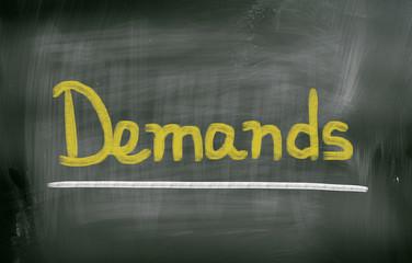 Demands Concept