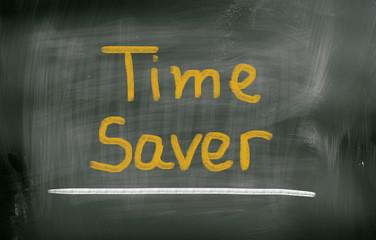 Time Saver Concept