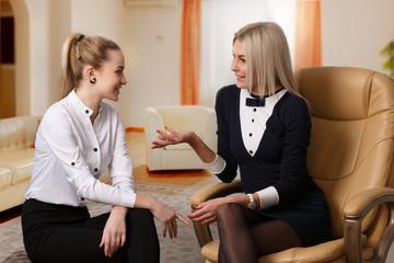 Conversation between two girlfriends