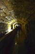 Leinwanddruck Bild - tunnel
