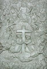 God carving legend