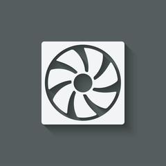 fan design symbol