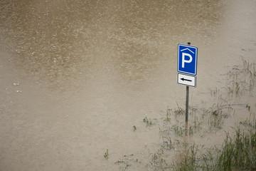 Floods in Prague, Czech Republic, June 2013