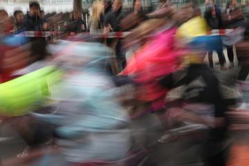 Marathon in Prague, Czech Republic