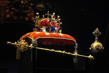 Bohemian Crown Jewels in Prague, Czech Republic
