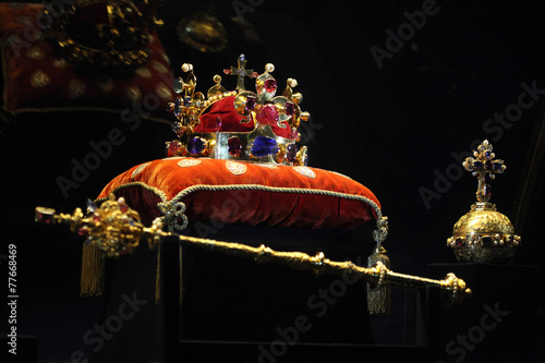 Fototapeta Bohemian Crown Jewels in Prague, Czech Republic