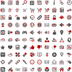 Internet Website Shop Online Icons