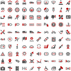 Technology Automobile Car Icons
