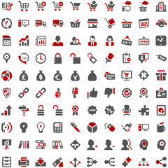 Work Internet Web and Business Icons