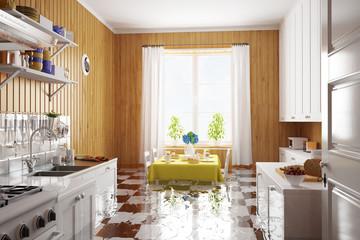Wasserschaden in der Küche