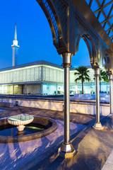 Malaysian National Mosque ( Masjid Negara ), Kuala Lumpur