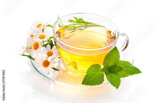 Fotobehang Thee Herbal tea