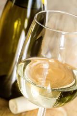 Weißwein Weinglas