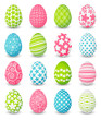 Set of color Easter eggs - 77678078