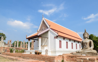Ancient Buddhist temple in Thailand