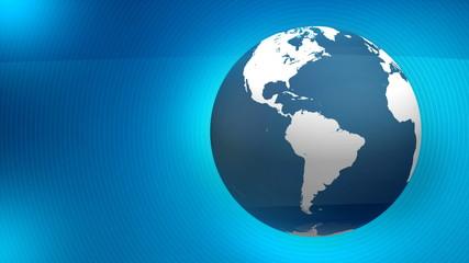 BLUE GLOBE + By VideomaticHD