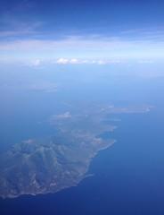 L'Italia dall'aereo