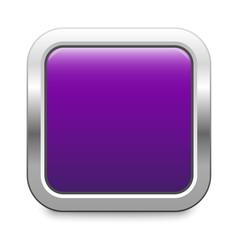 purple metallic button square template